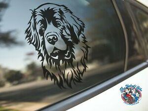 Leonberger Sticker Dog Car Decal Leonbergers Dogs Breed Face Silhouette