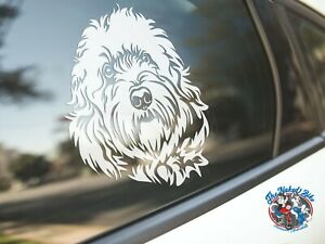 Cockapoo Sticker Dog Car Decal Cocker Spaniel X Poodle Dogs Breed Silhouette