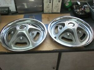 Wheel Covers hub Caps 1967 1972 Ford Pickup Truck Mag Style 15