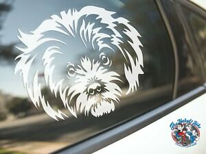 Maltese Sticker Dog Car Decal Cute Show Pet Dogs Breed Silhouette Stickers