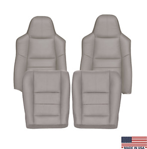 2008 2009 2010 Ford F250 F350 Lariat Replacement Leather Seat Covers In Gray