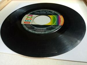 1962 Brenda Lee: All Alone Am I Save All Your Lovin#x27; G 45RPM 7quot; vinyl record $5.65