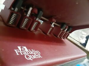 Franklin Quest Covey Planner Large Monarch Metal Hole Punch Rare