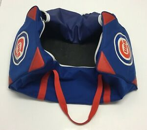 2015 Chicago Cubs Game Used Equipment Bag Large Blue Duffle Bag Rare $399.99