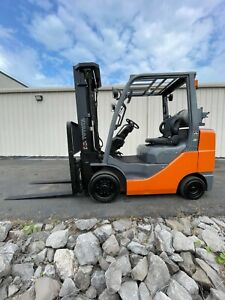 Toyota 6k Indoor outdoor Forklift 4th Hydraulic Function 3 Stage Side Shift