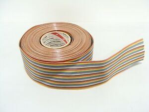 3m Scotchflex Flat Cable Rainbow Ribbon Cable Roll 44 Pin Roll