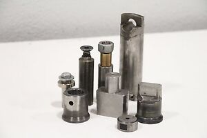 Lot Of 8 Misc Punch Die Diaco Whitney Roper Turret Cutter Equipment priority Sh