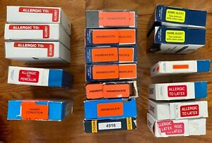 Huge Lot Smead Medical Chart Labels Stickers Allergy Heart Condition Alert