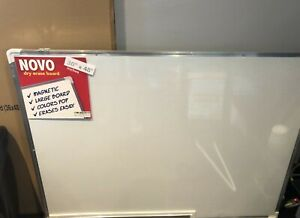 White Board Dry Erase Magnetic 48 X 36 Wall Mounted New In Box