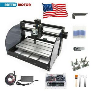 us Stock Cnc 3018 Pro Max Router Machine Engraving Laser Mill cut Wood pcb pvc