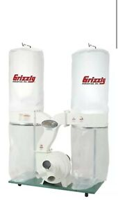 G1030z2p Grizzly 3 Hp Dust Collector With Aluminum Impeller
