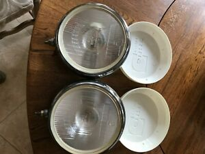 Cibie Super Oscar 9 Driving Lights Matched Pair New Original Stock Perfect