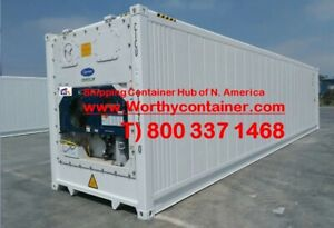 Refrigerator Container 40 High Cube New One Trip Refer In Long Beach La Ca