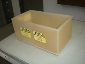 Imperial Industries 5 Gallon Salt Water Tank From An Adhesion Tester