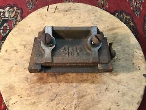 Sears Craftsman Jointer In Feed Bed Sliding Mounts Off Model 103 King Seeley