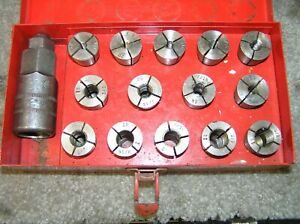 Snap On Stud Remover Re Setter Tool Set Cg 500 Metal Case Free Shipping