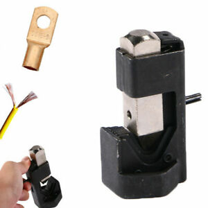 Cable Hammer Terminal Lug Crimper Tool Battery Welding Wire Connector 8to4 0 Awg