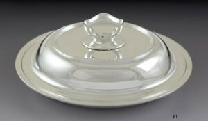 Fabulous Antique C1920 Tiffany Co Sterling Silver Covered Entr E Serving Dish