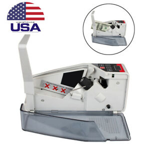 Portable Mini Bill Cash Money Currency Counter Banknote Counting Count Machine