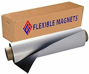 Flexible Magnets Sheet With Adhesive 30mil Thick Ideal For Diy Projects