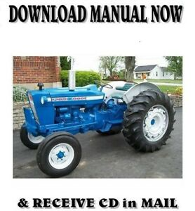Best Ford 2000 3000 4000 5000 7000 Tractor Service Shop Manual 1965 75 On Cd