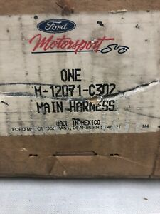 Ford M 12071 C302 Motorsport Racing Performance Parts Mustang 5 0l Efi Harness