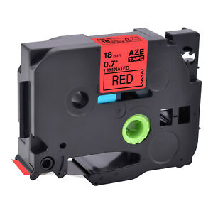 Black On Red Label Tape Tze441 Tz441 Compatible For Brother Pt1400 3 4