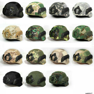 Hunting Paintball Camouflage Helmet Cover Cloth for MICH2000 Tactical Helmet $11.57