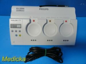 Philips Avalon M2720a cts Cordless Fetal Transducer System Dock Station 25844