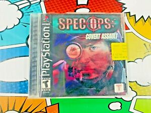 Spec Ops: Cover Assault Sony PlayStation PS1 w Manual FREE SHIPPING $12.99