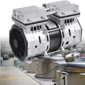 High Flow Oilless Vacuum Pump Fit For Automatic Laminating Machine Semiconductor