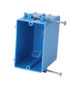 Carlon Zip Box Blue Switch And Outlet Boxes Part No B118a