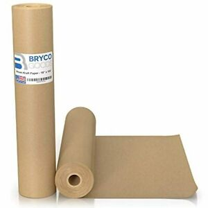 Brown Kraft Paper Roll 18 X 1200 100 Made In The Usa Ideal For Packing New