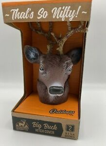 Big Buck Trailer Hitch Ball Cover Whitetail Deer Antlers 2 1 7 8 Hitches