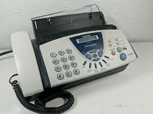 Brother Fax 575 Personal Fax Machine Phone Copier W Manual Cords