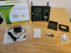 Acroprint Bio Touch Biometric Time Card Recorder Clock Punch In Device