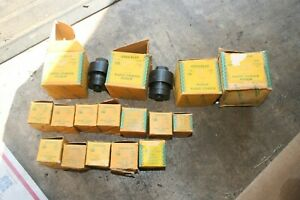 New Old Stock 16 Piece Greenlee 730 Radio Chassis Punch Set 1 2 To 2 5