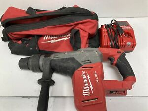 Milwaukee 2717 20 M18 Fuel 1 9 16 Sds Max Rotary Hammer Bag Charger