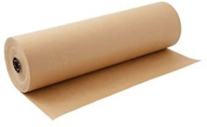 Kraft Paper Roll 30 X 1800 Inch Brown Craft Paper Table Cover Packing Wrapping