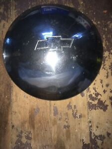 Vintage Chevy Baby Moon Bow Tie Hubcaps Hub Chevrolet Man Cave 10 1 2 Inches Oem