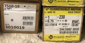 Grundfos Submersible Water Well Pump 7s10 19 230v 1hp Franklin Motor