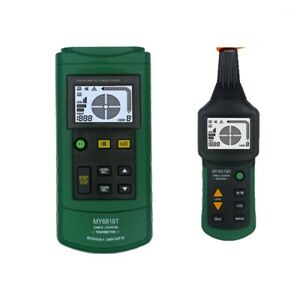 Electric Circuit Detector Transmitter 400v Cable Tester Tracker Finder Device
