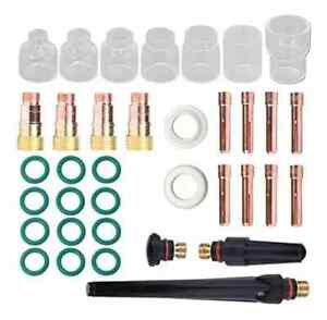 36pcs Tig Welding Torch Accessories Stubby 4 12 Kit For Wp 17 18 26