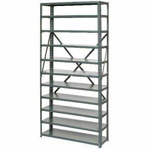 Open Style Steel Shelf With 11 Shelves 36 wx18 dx73 h