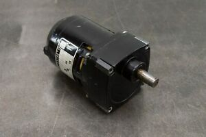 Bodine Electric Nci 11 D4 Gear Motor 115 Volts 1 phase Gearmotor 17 Rpm 1 90 Hp