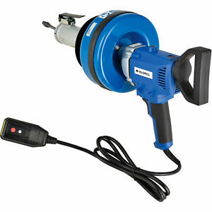 Electric Auto feed Handheld Drain Cleaner For 3 4 3 id 5 16 x25 Cable