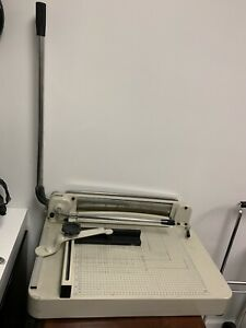 Heavy Duty Paper Trimmer Guillotine Paper Cutter 16 Cut Length 250 Sheets