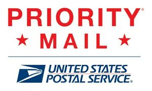 Usps Prepaid Priority Mail Shipping Label Up To 60lbs Domestic Within Usa