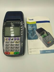 Verifone Vx570 Omni 5700 Credit Card Machine No Power Cord Untested As Is