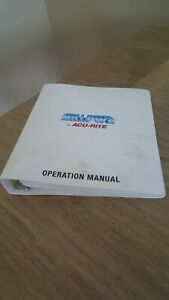 Millpwr By Acu rite Operation Manual Introduction Setup Dro Programming
